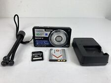 Sony Cyber-shot DSC-W330 14.1MP Digital Still Camera - Black Bundle