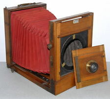 CHAMBRE MACKENSTEIN PARIS 18x24 cm OBJECTIF HERMAGIS APLANAT GRAND ANGLE N°8