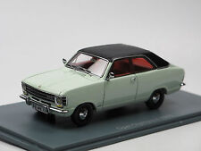 Neo Scale Models 43756 Opel Olympia A Coupe Baujahr 1970 altweiß/schwarz 1/43