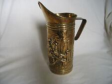 Brass Ornamental Jug with Tavern scene – Ref 1264