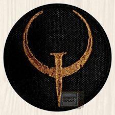 Quake 1 Logo Embroidered Patch Ranger Team Arena Ultimate Quakeworld Arcade PC