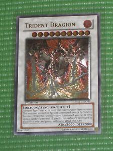 YuGiOh Card - Trident Dragion RGBT-EN043 1st Ed. Ultimate Rare