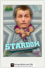 2011 Select NRL Champions Stardom Mascot Gem MG7 Keiran Foran (Manly)
