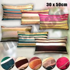 Striped Rectangular Decorative Cushion Covers