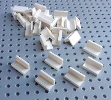 Lego White 1x2x1 Tile Panel Brick Rounded Corner (4865) x20 *BRAND NEW Star Wars