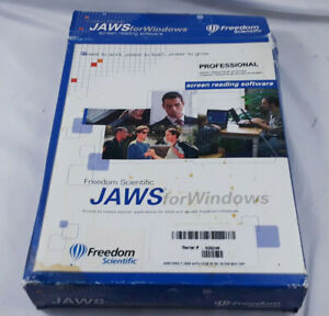 FREEDOM SCIENTIFIC JAWS FOR WINDOWS Professional