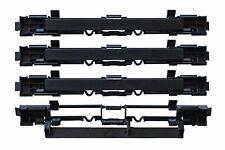 4 x Abdeckung Leiste Dachträger Blende Deckel Gepäck für OPEL ASTRA H ZAFIRA B