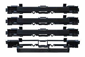 4 x Abdeckung Leiste Dachträger Blende Deckel Gepäck für OPEL ASTRA H L35 L08