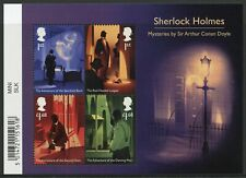 More details for gb writers stamps 2020 mnh sherlock holmes mysteries arthur conan doyle 4v m/s
