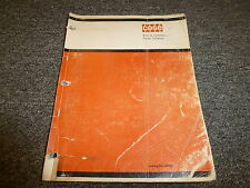 Case 310G Crawler Dozer Loader Original Parts Catalog Manual B920