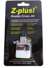 Z-plus Jetflame-einsatz für Benzinfeuerzeuge Doppelflamme