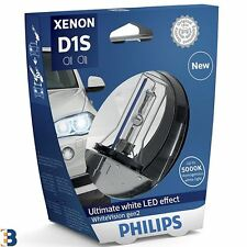 1x Philips D1S Xenon Faro Bombilla de coche WHITEVISION PK32d-2 85415WHV2S1 gen2