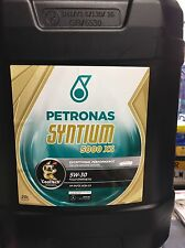 Petronas Syntium XS Fully Synthetic Engine Motor Oil SAE 5W-30 20L Litre ACEA C3