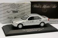 Minichamps 1/43 - Mercedes C180 Car of the World Champions 1993