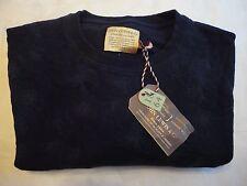John Lewis & Co - Lily pad Printed Crew Sweatshirt in Navy - Large