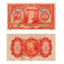 1942 BRITISH GUIANA (KG VI) , $1 » CV $150 « ~X.RARE~
