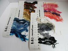 4 LoRan Master Tarjetas Completo De Punto Cruz Hilo Sobre 37 Madejas Multicolor
