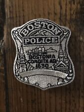 Boston Police cloth  badge Patch