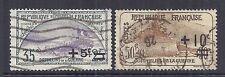 1922 France SC B16-B17   EV 166-167 Semi Postal - Used