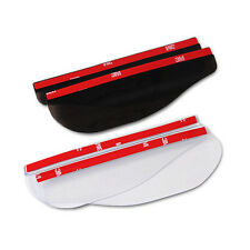 Universal Car Rear View Side Mirror Rain Board Sun Visor Shade Shield Useful 2PC