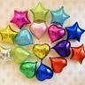 """10 pieces 5"""" 10"""" 18"""" Love Heart Foil Helium Balloon Balloons Wedding Party Decor"""