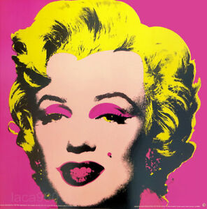 Andy WARHOL Marilyn Monroe Pink 1993 Litho Print 26 x 26