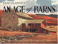 Eric Sloane's An Age of Barns: An Illustrated Review of Classic Barn-ExLibrary