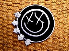 BLINK 182 Sew Iron On Patch Punk Rock Band Embroidered Logo Music Heavy Metal.