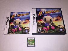Bomberman (Nintendo DS) Original Release Complete Nr Mint!