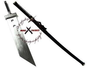 "Final Fantasy Masamune Sephiroth's Sword 68"" + Cloud Buster Strife Sword 52"""