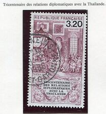 STAMP / TIMBRE FRANCE OBLITERE N° 2393 DIPLOMACIE THAILANDAISE