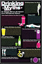 DRINKING POSTER Drinking Myths