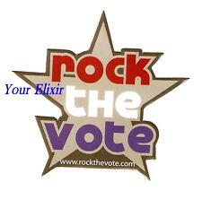Rock The Vote .com Election Music Smart Choice Sticker