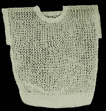 ON TREND - Openwork Designer Jumper - Hand Crafted in the UK - Loose Fit - Ivory