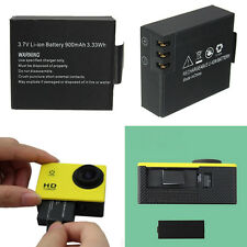 900mAh Li-ion Backup Battery For SJCAM SJ4000 SJ5000 SJ6000 Sports Action Camera