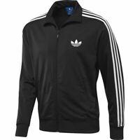 Adidas Originaux HOMME Firebird Piste Haut Survêtement Polaire Noir TAILLES S-XL