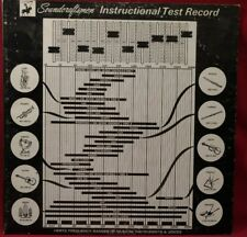 Soundcraftsmen Instructional Test LP Record for Audio Frequency Equalizer