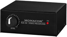 Monacor SLA-35 Pegel-Regler Massefilter PC Laptop  Entstörfilter Brummschleifen