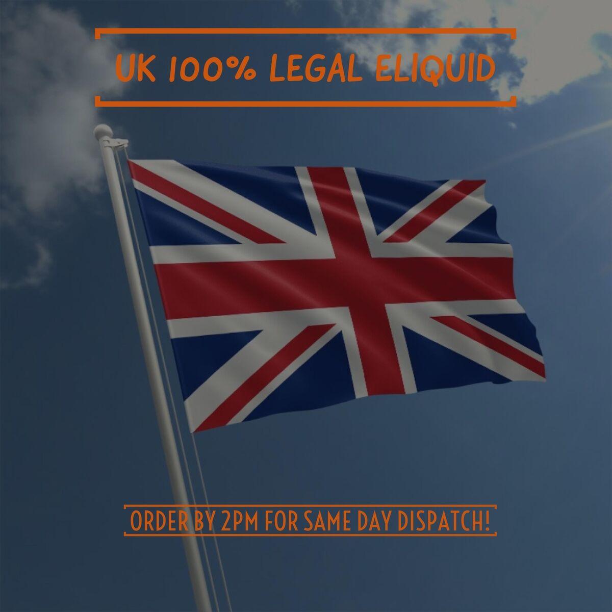LEGAL UK TPD Approved Eliquid
