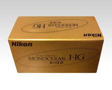 New Nikon HG High Grade Monocular Scope HG5X15D Light Gold from Japan HG5X15D