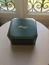 Breguet watch case box green leather Boite presentation montre