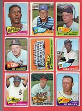 Lot of 18 different 1965 TOPPS ALL** Single Print High Number ** SP HI # **
