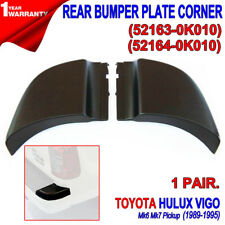 FOR Toyota Hilux Pickup 2005-14 With Rear Bumper Plate End Corner Cap Pair LH RH