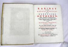 M. B. VAN NIDEK KABINET VAN NIEDERLANDSCHE ANSICHT NIEDERLANDE  1727-33 #D917S