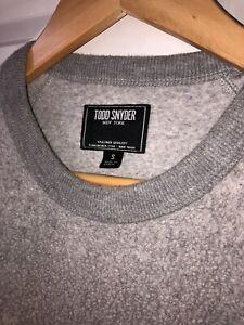 NEW Todd Snyder x Champion Reverse Fleece Crew Sweatshirt Orig $168