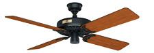 Hunter Fan 23838 Original 52 inch Black with WalnutCherry Blades Outdoor Ceilinh