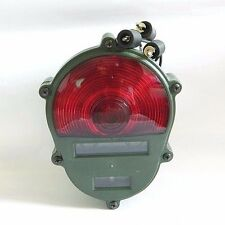 NEW REAR TAIL LIGHT RED LAMP 24 VOLT MILITARY JEEP M151 A2 M35
