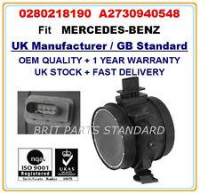 MERCEDES-BENZ Mass Air Flow Meter Sensor 0280218190 A2730940548 A2730940948 OEM