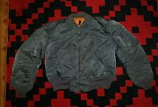 VINTAGE JACKET FLYING MA-1 SCOVILL ZIPPER