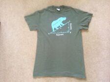 Maths Slogan Hippopotame fantaisie en coton vert à manches courtes T-Shirt Medium